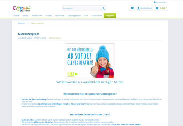 Dorins Kindermode Blog