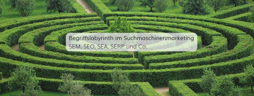 Suchmaschinenmarketing mit SEA und SEO als wichtigste Disziplinen des Onlinemarketings