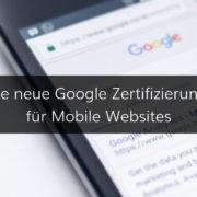 Google Prüfung und Zertifizierung für Mobiloptimierung