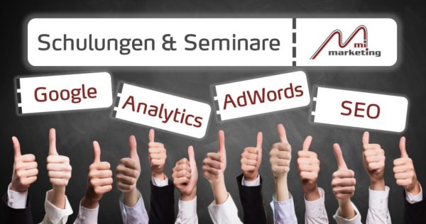 Onlinemarketing Schulungen von mi-marketing
