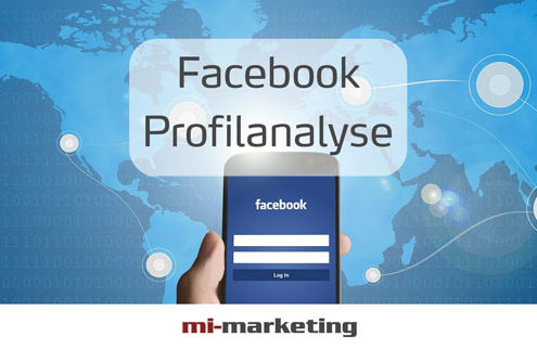 Facebook Profilanalyse von mi-marketing