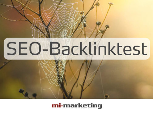 SEO-Backlinktest von mi-marketing