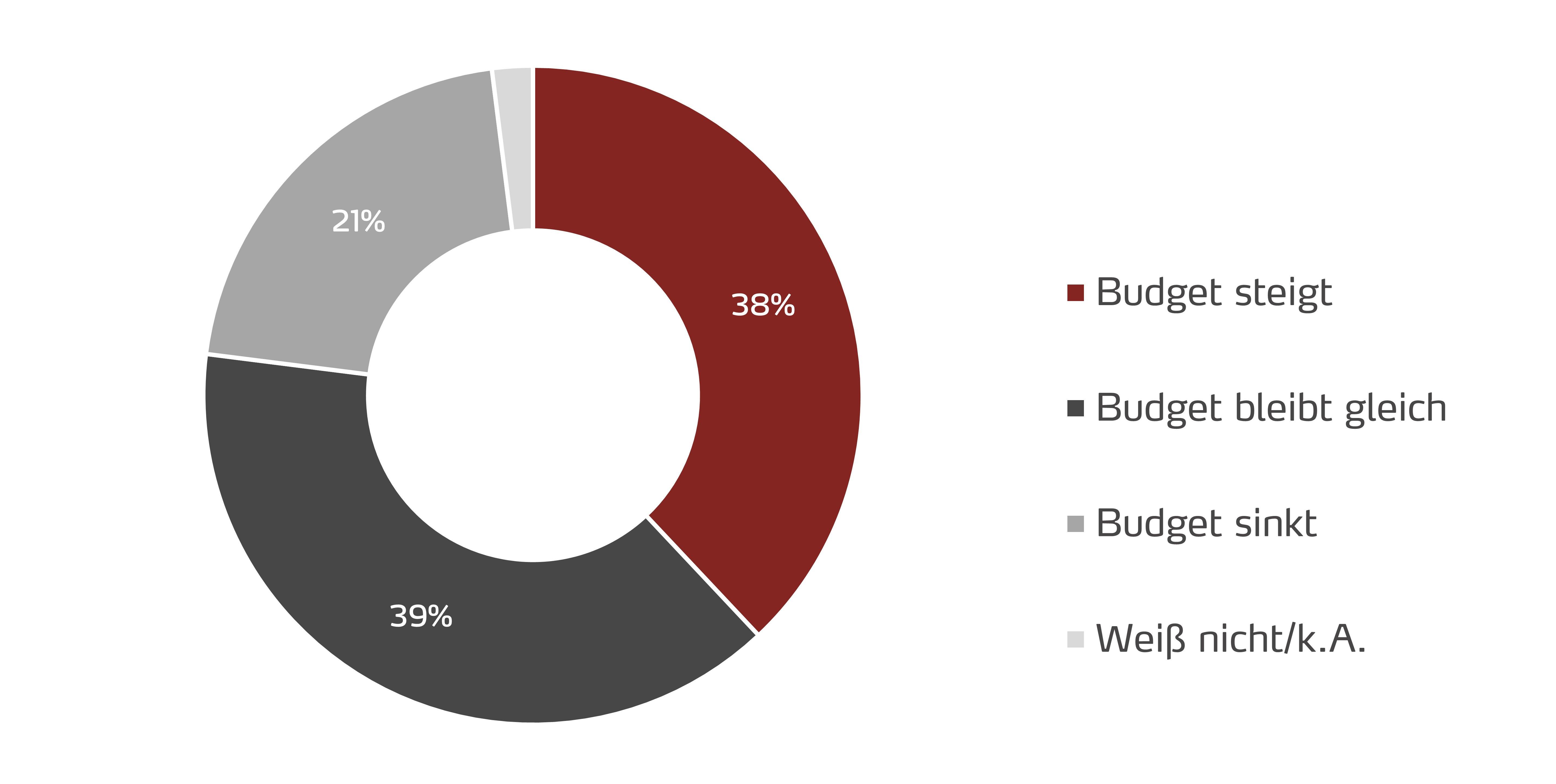 Social Media Budget in 5 Jahren 2017