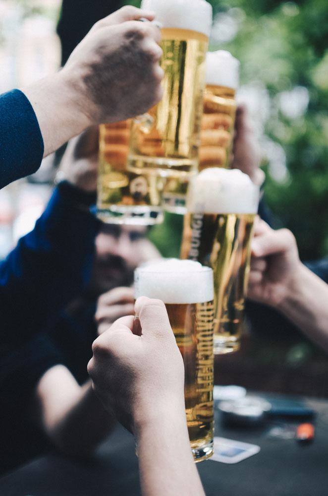Stereotyp - Deutsche als Biertrinker