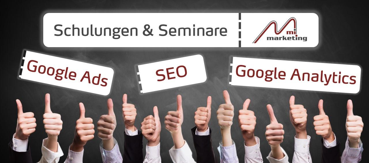 Onlinemarketing Schulungen von mi-marketing
