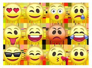 Emojis in der Netzsprache