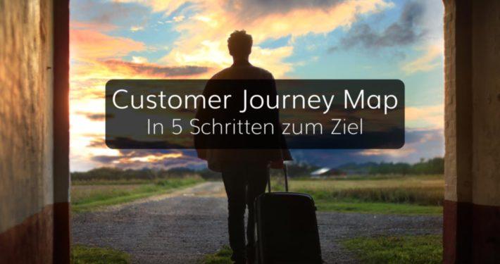 Customer Journey Map in 5 Schritten erstellen