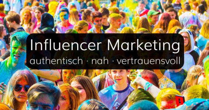 Influencer Marketing für Unternehmen und Marken