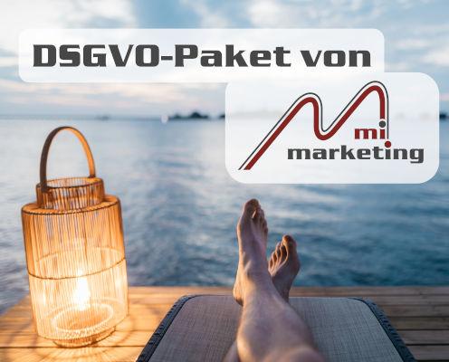 datenschutzkonforme Webseiten mit dem DSGVO-Paket von mi-marketing